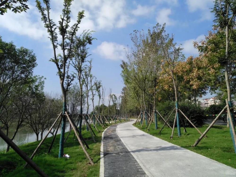 海州玉带河生态廊道年底交付!-连云港房产网