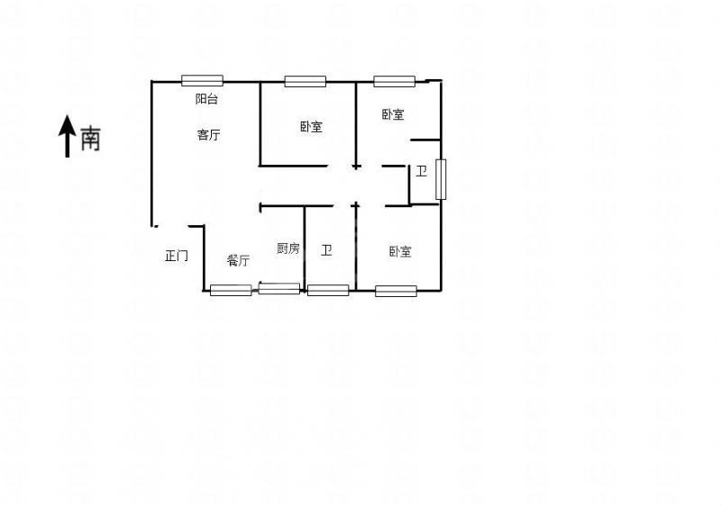 海连新天多层5楼,简单装修家居家电齐全。拎包即住。