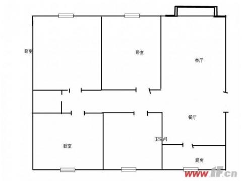 杏坛花园 简装三室送储藏室