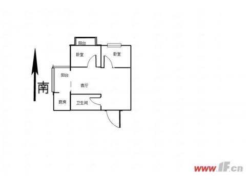 解放路学区房九龙城市乐园精装2室送11平车库      2室2