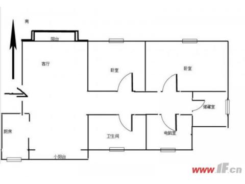 电梯花园洋房多层1楼同科汇丰国际送储藏室 3室2厅2卫