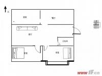 实验小学学区房子,三室改为两室,做了一个特别大的