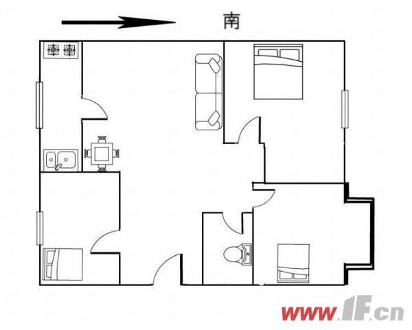 公共设施图片说明(限10个字),该房源位于九龙城市乐园,九龙城市乐园  多层三室  送家具家电 拎包即住!