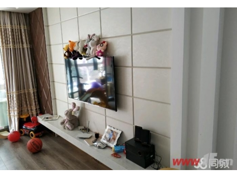 新出同科汇丰国际精装两室 中央空调暖气片 无敌采光本