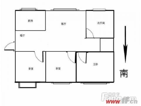 重点推荐 138平精装修3室朝阳南北通透送车库 明珠皇冠